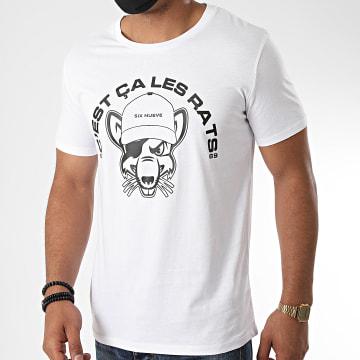 L'Allemand - Tee Shirt Rats Blanc