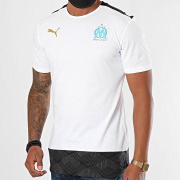 Puma - Tee Shirt Oversize OM Casuals 757753 Blanc