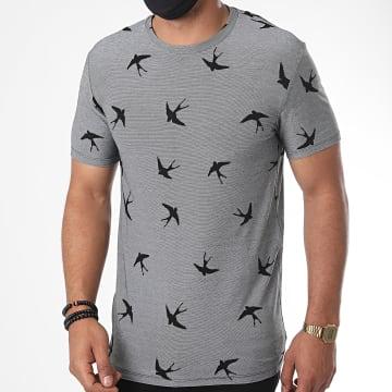 Uniplay - Tee Shirt UY498 Gris Chiné