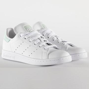 Adidas Originals - Baskets Femme Stan Smith EF6876 Footwear White Green Core Black