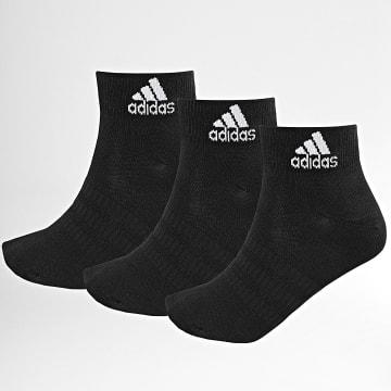 Adidas Performance - Lot De 3 Paires De Chaussettes Light Ank DZ9436 Noir