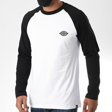 Dickies - Tee Shirt Manches Longues Youngsville Blanc Noir