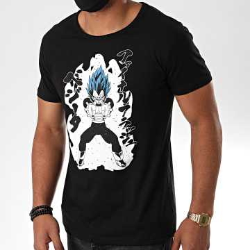 Dragon Ball Z - Tee Shirt Vegeta Royal Blue 587 Noir