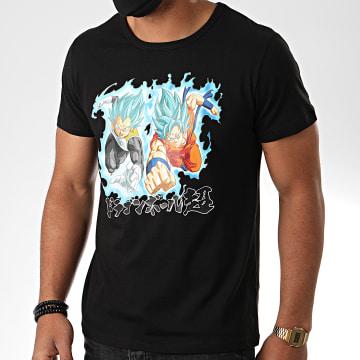 Dragon Ball Z - Tee Shirt Goku Et Vegeta Noir