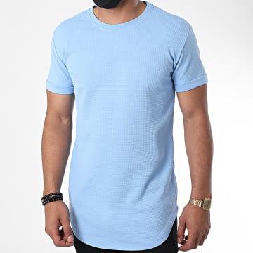 Frilivin - Tee Shirt Oversize 5423 Bleu Clair