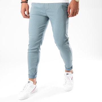 Frilivin - Pantalon A Rayures 1765 Bleu
