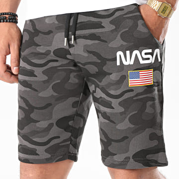 NASA - Short Jogging Director Camo Noir