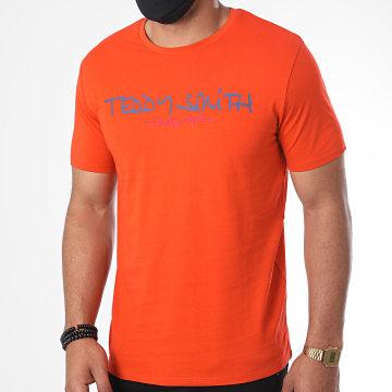 Teddy Smith - Tee Shirt Ticlass Basic Orange