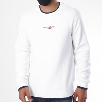 Teddy Smith - Sweat Crewneck Silife Blanc