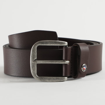 Teddy Smith - Ceinture Coin 2 Marron
