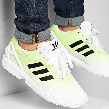 adidas - Baskets ZX Flux EG5409 Footwear White Core Black Signal Green