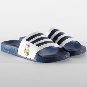 Adidas Performance - Claquettes Adilette Shower Real Madrid FW7073 Bleu Marine