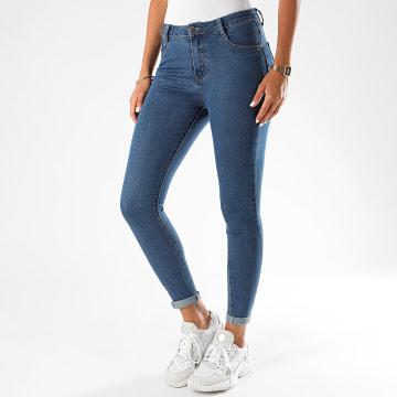 Girls Only - Jean Skinny Femme N625 Bleu Denim