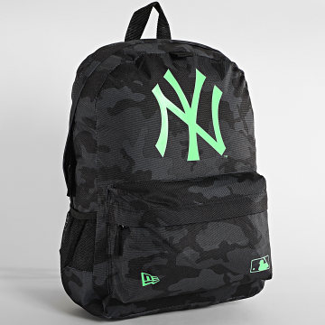 New Era - Sac A Dos MLB Stadium New York Yankees 12380992 Gris Anthracite Camouflage