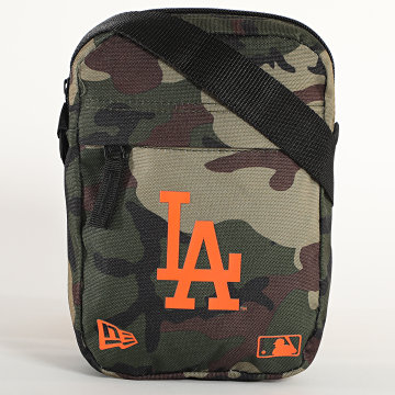 New Era - Sacoche Side Bag 12381001 Los Angeles Dodgers Camo Vert Kaki