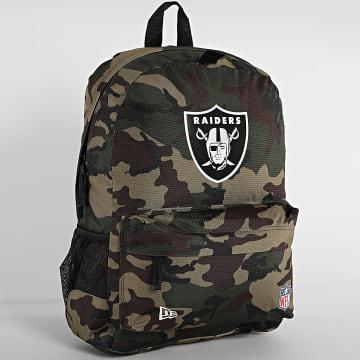 New Era - Sac A Dos NFL Stadium Oakland Raiders 12386707 Vert Kaki Camouflage