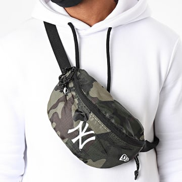 New Era - Sac Banane Camouflage MLB Gym New York Yankees 12386722 Vert Kaki