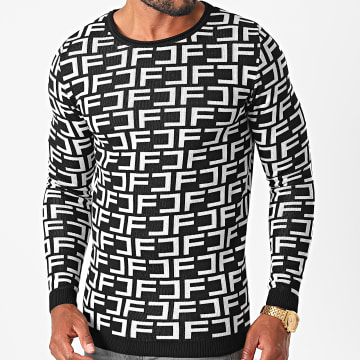 Final Club - Pull Premium Fit 11 Noir Blanc