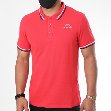 Kappa - Polo Manches Courtes Esmo 3112GRW Rouge