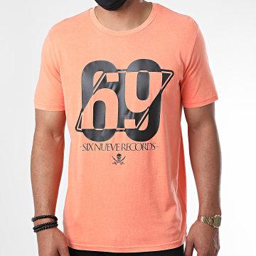 L'Allemand - Tee Shirt 69 Orange Fluo