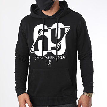 L'Allemand - Sweat Capuche 69 Noir