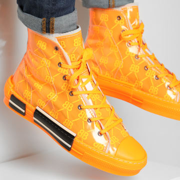 BB Salazar - Baskets Montantes Reflector Orange