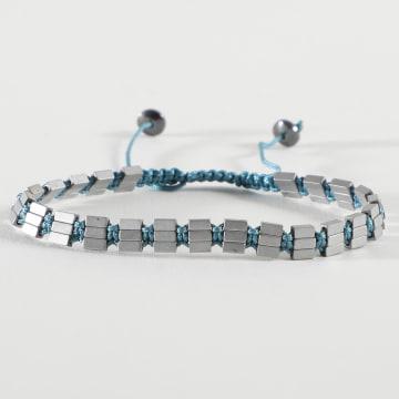 Classic Series - Bracelet BBN-239 Argenté Bleu Clair
