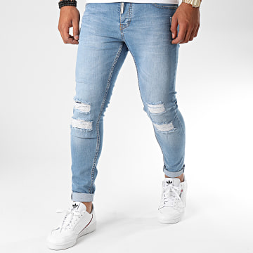 Black Needle - Jean Slim 3178 Bleu Denim