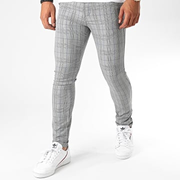 Classic Series - Pantalon Carreaux M-3311 Gris