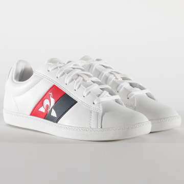 Le Coq Sportif - Baskets Femme CourtClassic Flag 2020251 Optical White