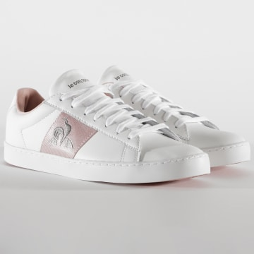 Le Coq Sportif - Baskets Femme Elsa 2020404 Optical White Cameo Rose