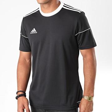 Adidas Performance - Tee Shirt A Bandes Squadra 17 BJ9173 Noir