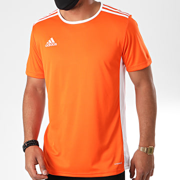 Adidas Performance - Tee Shirt A Bandes Entrada 18 CD8366 Orange