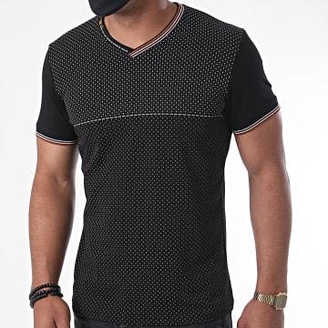 Classic Series - Tee Shirt Col V 2881 Noir