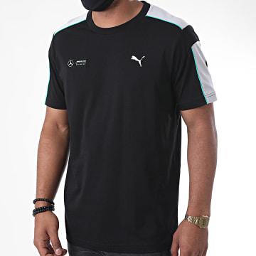 Puma - Tee Shirt Mercedes AMG Motorsport T7 598040 Noir Gris