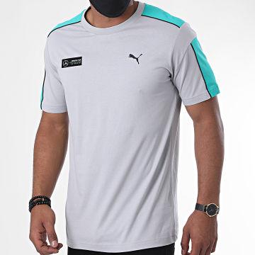 Puma - Tee Shirt Mercedes AMG Motorsport T7 598040 Gris Vert