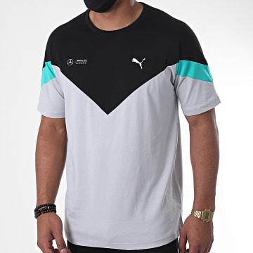 Puma - Tee Shirt Mercedes AMG Motorsport T7 598595 Gris Noir Vert