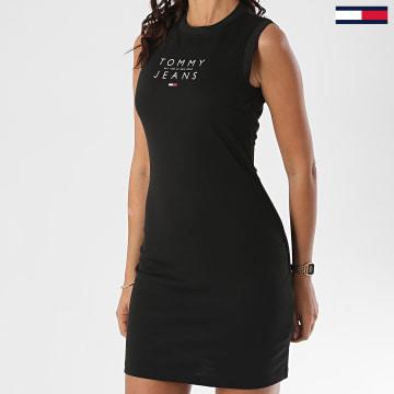 Tommy Jeans - Robe Débardeur Femme Logo 8444 Noir