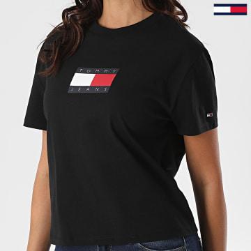 Tommy Jeans - Tee Shirt Tommy Flag 8471 Bleu Marine