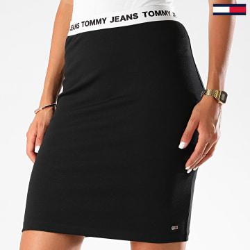 Tommy Jeans - Jupe Femme Bodycon 8607 Noir