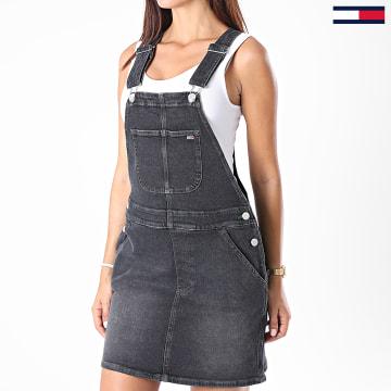 Tommy Jeans - Robe Salopette Jean Femme Classic 8619 Noir