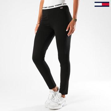 Tommy Jeans - Legging Femme Branded Waistband 8652 Noir