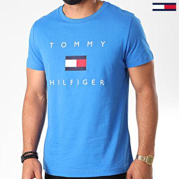 Tommy Hilfiger - Tee Shirt Tommy Flag 4313 Bleu Azur