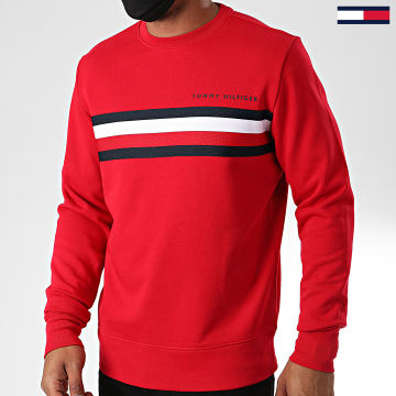 Tommy Hilfiger - Sweat Crewneck Logo 4758 Rouge