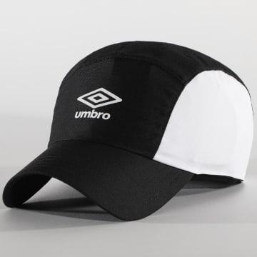 Umbro - Casquette 706700 Noir Blanc