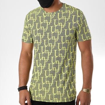 Uniplay - Tee Shirt UY505 Jaune Chiné