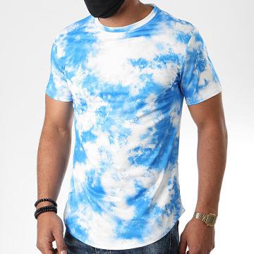 Uniplay - Tee Shirt Oversize T701 Bleu Blanc