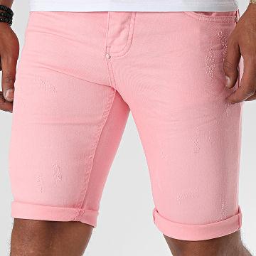 Uniplay - Short Jean Skinny 358 Rose