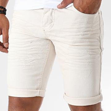 Uniplay - Short Jean Skinny 358 Beige