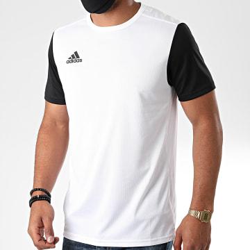 Adidas Performance - Tee Shirt Estro 19 DP3234 Blanc Noir